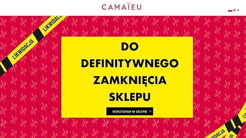 To koniec sklepów Camaieu w Polsce