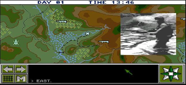 Mapa z poklatkowym filmikiem. Prosty, ale pobudzający wyobraźnię efekt.