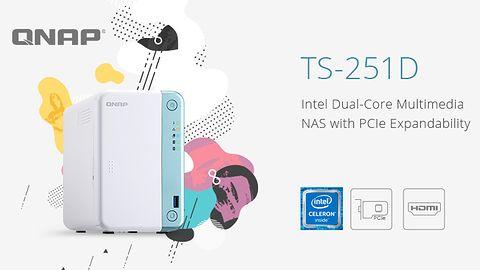 QNAP TS-251D: nowy multimedialny NAS ze złączem PCIe