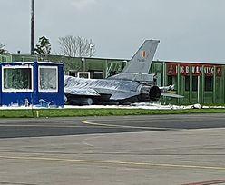 Usłyszeli wielki huk. Myśliwiec F-16 uderzył w budynek w Holandii