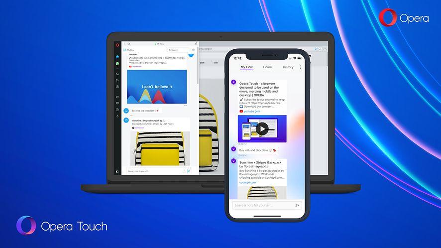 Wygodna przeglądarka z synchronizacją z desktopem? Opera Touch dla iOS-a już jest