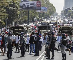 Protesty w Mjanmie (Birma). Są ofiary starć z policją