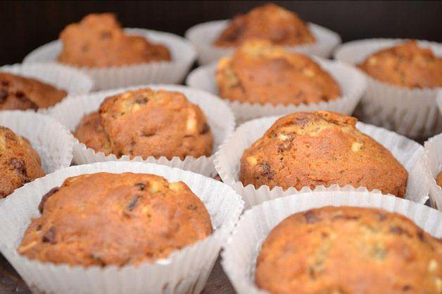 Muffiny ze szpinakiem i fetą