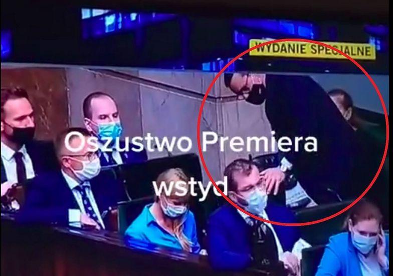 """""""Oszustwo premiera""""? Pokazali wideo z Morawieckim. Prawda okazała się inna"""