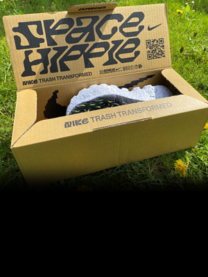 Buty ze śmieci 🗑️ w normalnej cenie. Czy Nike Space Hippie 04 mają sens?