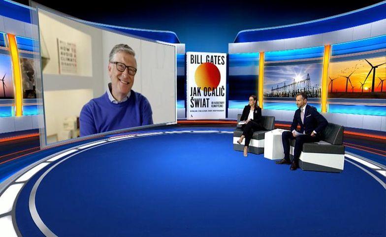 Bill Gates i Piotr Kraśko o pandemii koronawirusa. Padły gorzkie słowa