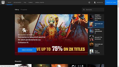 Epic Games Store idzie w ekskluzywność. Lista tytułów imponuje