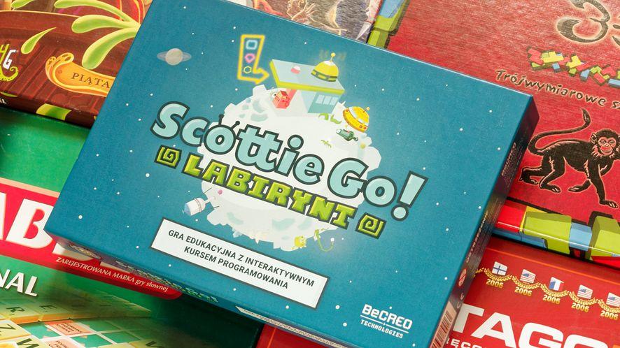 Scottie Go! Labirynt to kolejna z serii polskich gier, uczących dzieci podstaw programowania