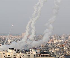 Atak na Izrael. Hamas wystrzelił rakiety