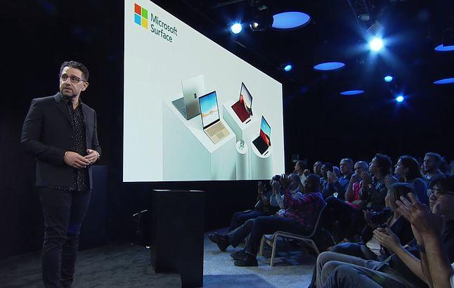 Nowe urządzenia z linii Surface.