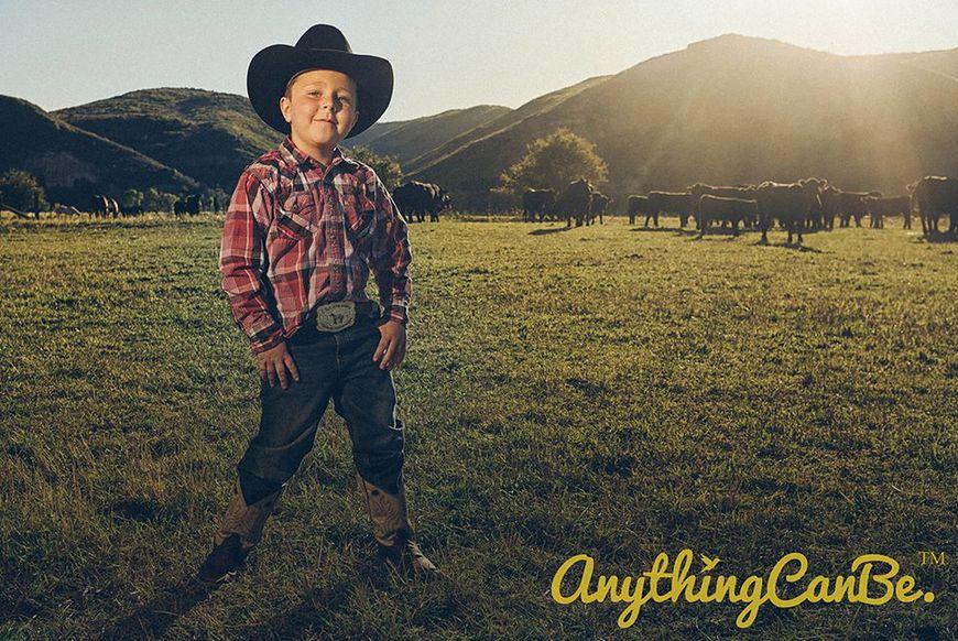 Carson w roli kowboja