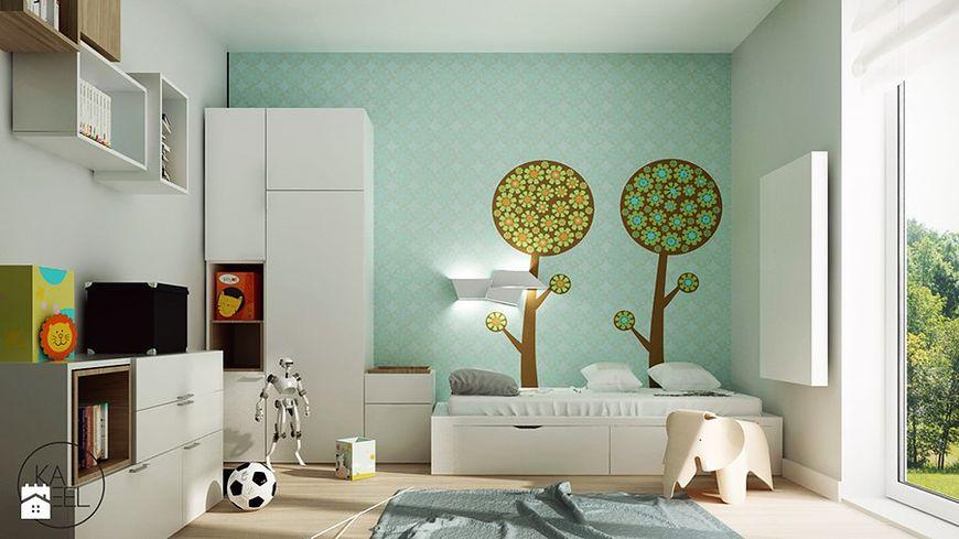 Kolorowe drzewka