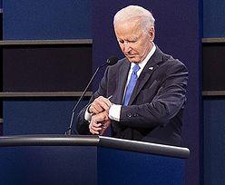 Nie mógł doczekać się końca debaty. Biden powtórzył wpadkę Busha