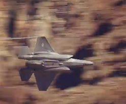 F-35 w wąwozie z Gwiezdnych Wojen. Niesamowite wideo