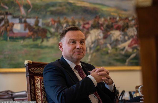 Prezydent Andrzej Duda zaskoczył. Skierował ustawę do TK