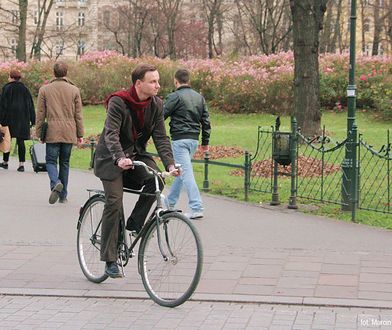 Wybory 2020. Andrzej Duda na krakowskich plantach, zdjęcie archiwalne