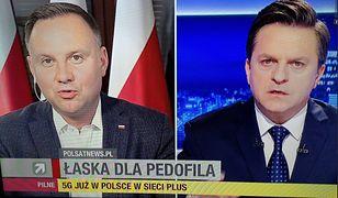 Wybory 2020. Andrzej Duda w Polsat News