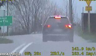 """Jechał z dziećmi 158 km/h na """"czterdziestce"""". Kierowca passata już bez prawa jazdy"""