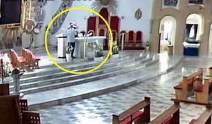 Wandale wtargnęli do kościoła w Starachowicach. Do kielicha mszalnego lali wódkę