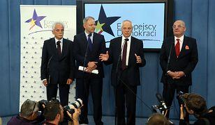 Michał Kamiński, Jacek Protasiewicz, Stanisław Huskowski, Stefan Niesiołowski