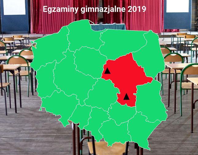 Egzamin gimnazjalny 2019. Według MEN i kuratoriów oświaty problemy z egzaminem gimnazjalnym mogą być tylko na Mazowszu