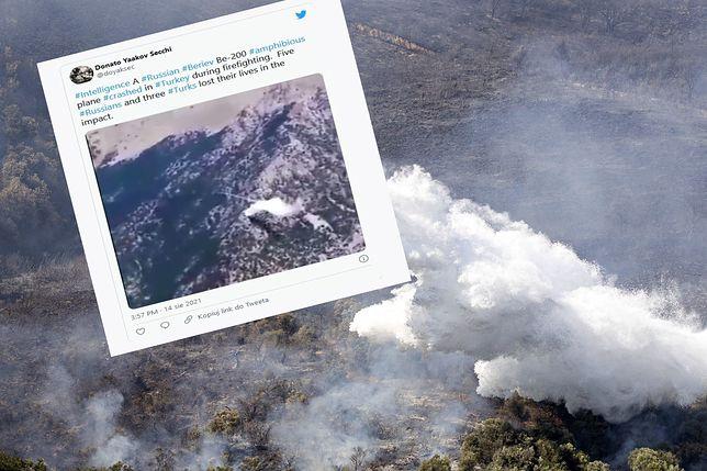 Katastrofa rosyjskiego samolotu w Turcji (zdjęcie ilustracyjne)