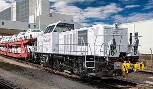 Hybrydowa lokomotywa w fabryce Audi