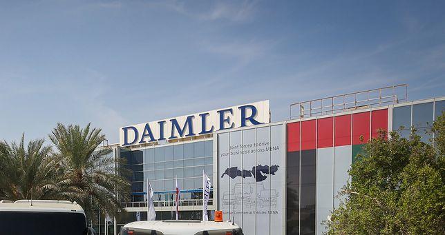 Samochody koncerny Daimler.