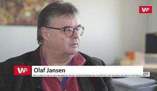 Olaf Jansen: mieszkańcy martwią się, czy zdążymy przed zimą przeprowadzić migrantów z namiotów