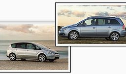 Opel Zafira II kontra Ford S-Max