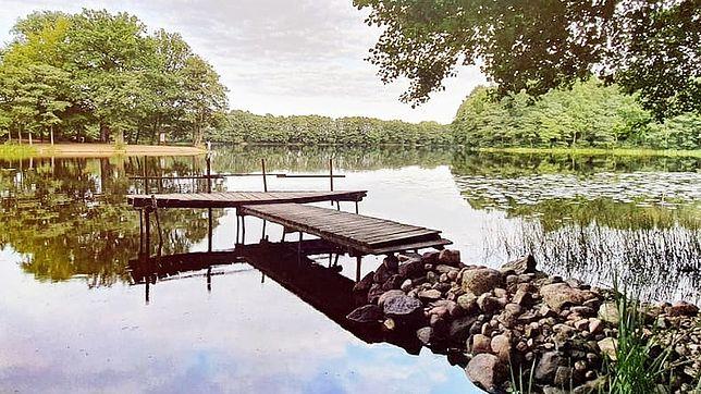 Jezioro Graniczne to jedno z najczystszych jezior w Polsce