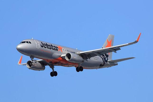 Samolot należący do linii Jetstar Airways