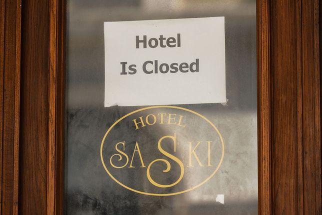 Hotele są zamknięte dla turystów od początku listopada 2020 roku