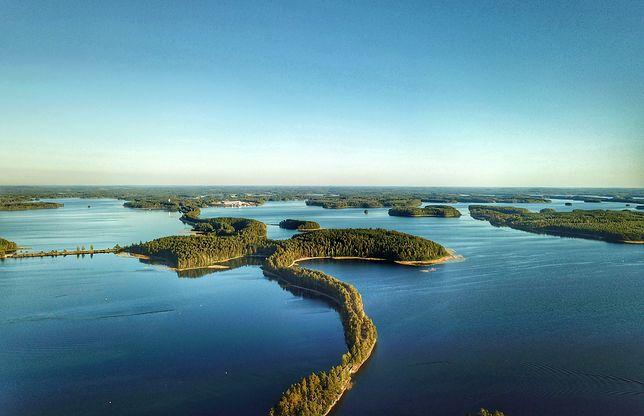 Punkaharju - wschodnia Finlandia