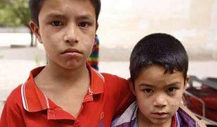 Zdjęcie zamkniętych w szkole braci Jesura udostępnione przez aktywistę