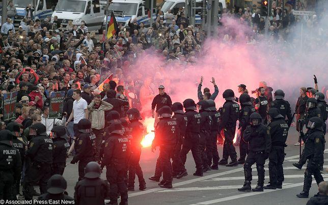 W Chemnitz doszło do zamieszek