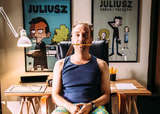 W tytułowego Juliusza wcielił się Wojciech Mecwaldowski