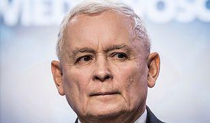 Jarosław Kaczyński cieszył się na konferencji z dwóch lat rządów PiS
