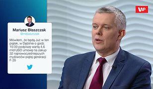 """""""Propaganda"""". Tomasz Siemoniak o filmie z Mariuszem Błaszczakiem"""
