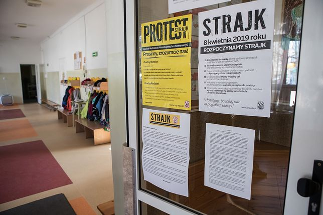 Strajk nauczycieli ma rozpocząć się 8 kwietnia