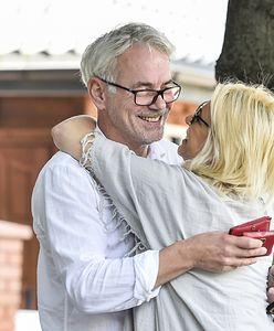 Janowski zachwyca się trzecią żoną. Świętowali brązową rocznicę
