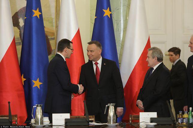 Rada Gabinetowa w Pałacu Prezydenckim. Andrzej Duda otworzył spotkanie