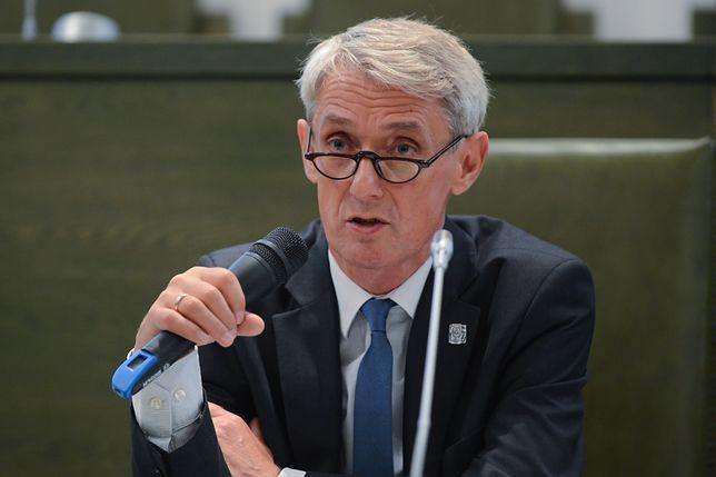Rzecznik SN Michał Laskowski mówił o zastrzeżeniach sędziów