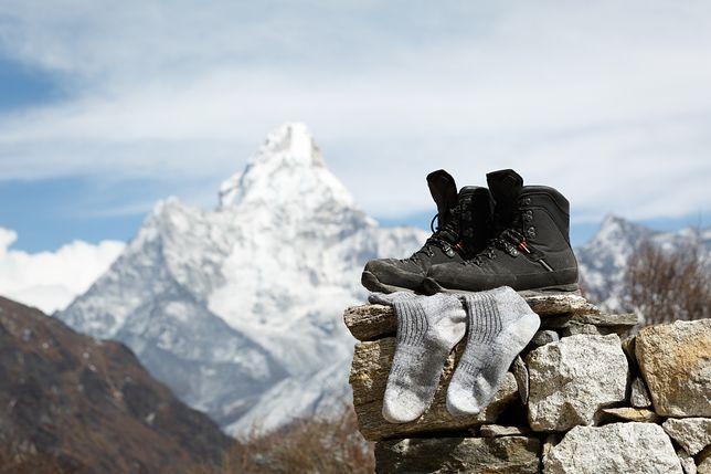 Skarpety trekkingowe wykonane z wełny merino to pewny wybór na długie wyprawy