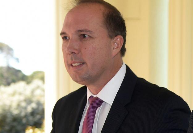 Australijski minister ds. imigracji Peter Dutton