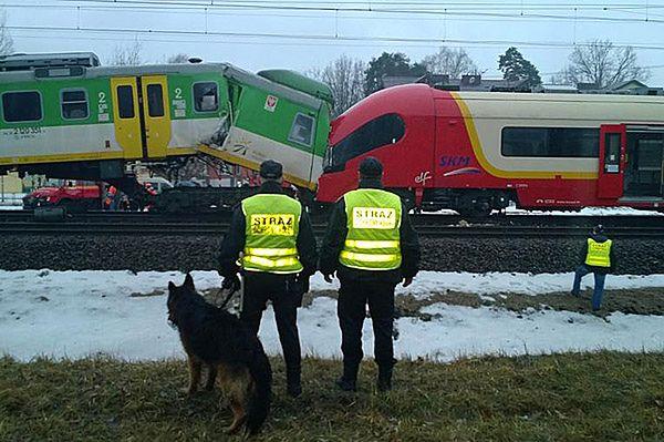 Zderzenie pociągów Szybkiej Kolei Miejskiej i Kolei Mazowieckich w Warszawie