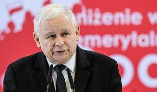 Jarosław Kaczyński na konwencji PiS w Bydgoszczy