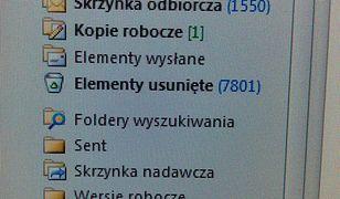 Uwaga ma maile od oszustów