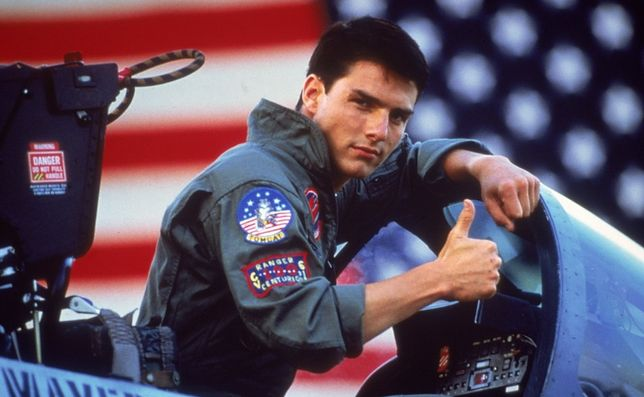 """W pierwszym """"Top Gunie"""" Tom Cruise miał 24 lata"""