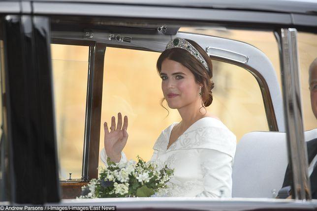 Eugenia zachwyciła na ślubie